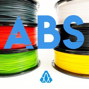 Imagen de cabecera para el filamento ABS.